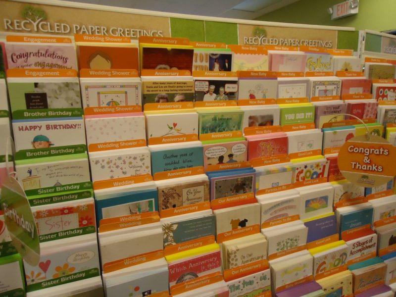free photo greeting cards display birthday cards