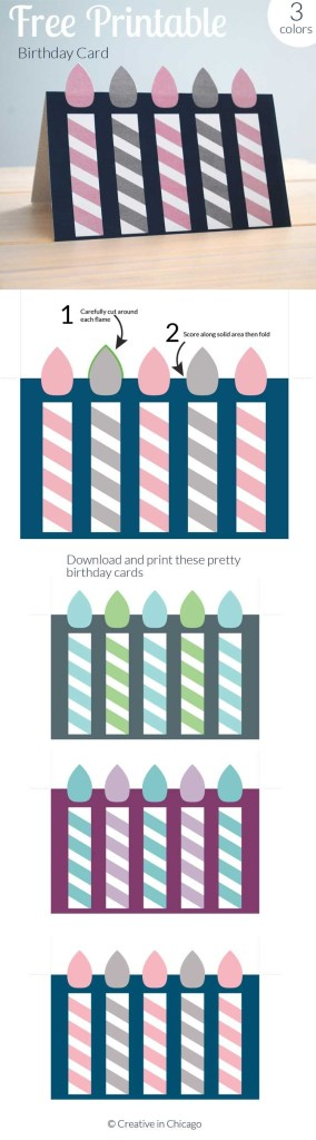 free printable birthday card for kids and adults birthday