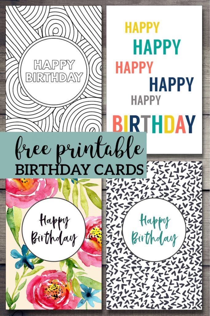 free printable birthday cards free printable birthday