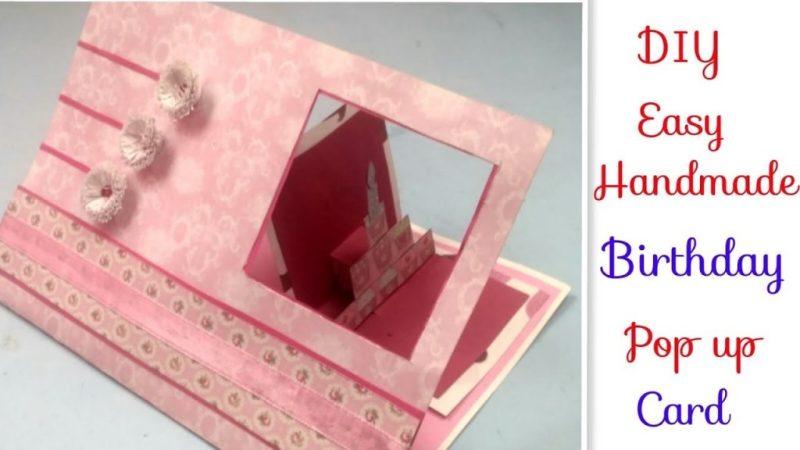 handmade birthday card for friendswife diy love greeting cards for birthdayanniversary cards