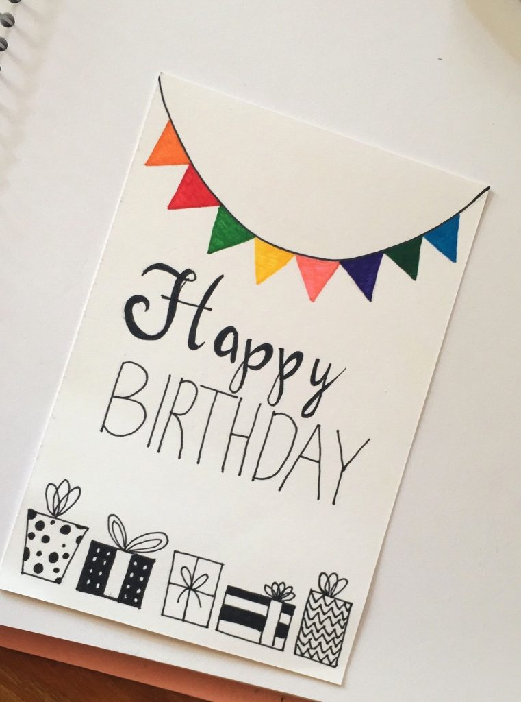 image result for hand lettering birthday card birthday