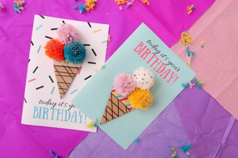 make your own diy birthday cards in 5 minutes 5 minute