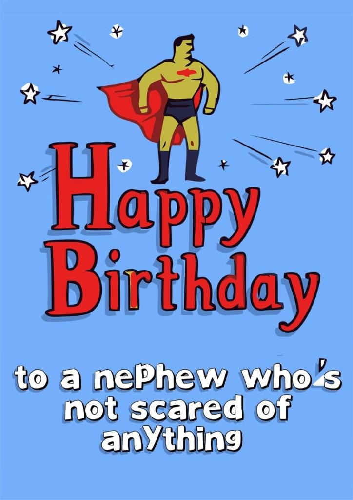 nephew birthday card free printable birthday cards