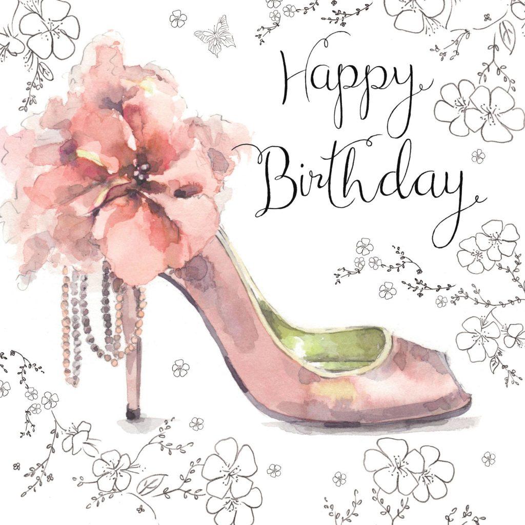 nes9 ladies happy birthday card