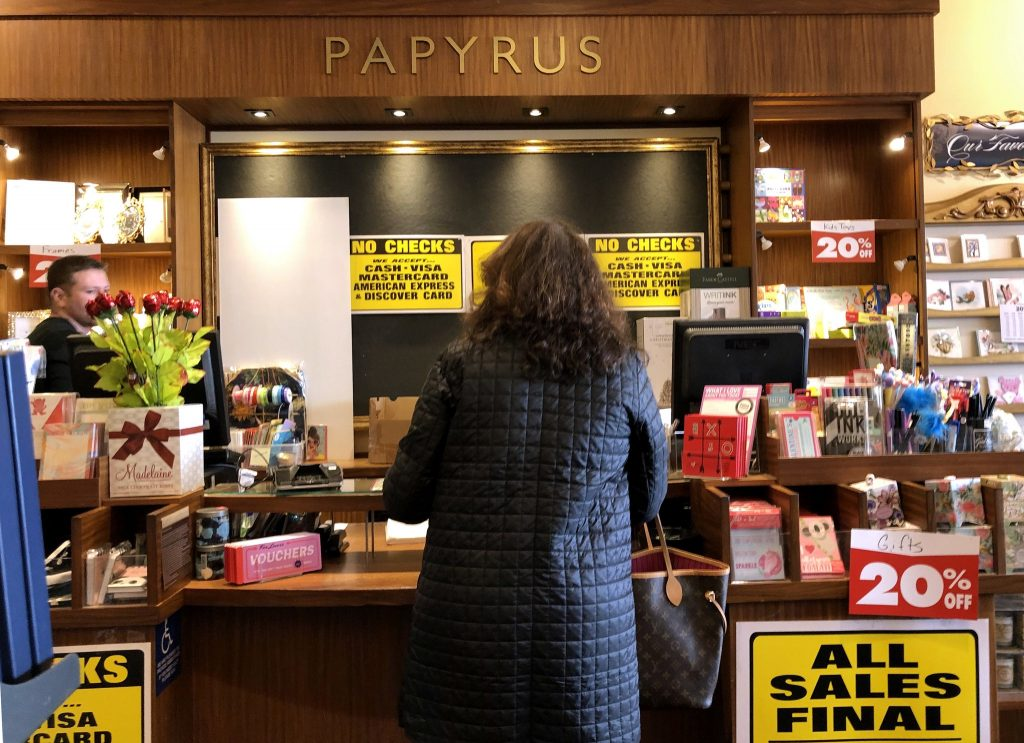 papyrus is shutting all its stores the new york times