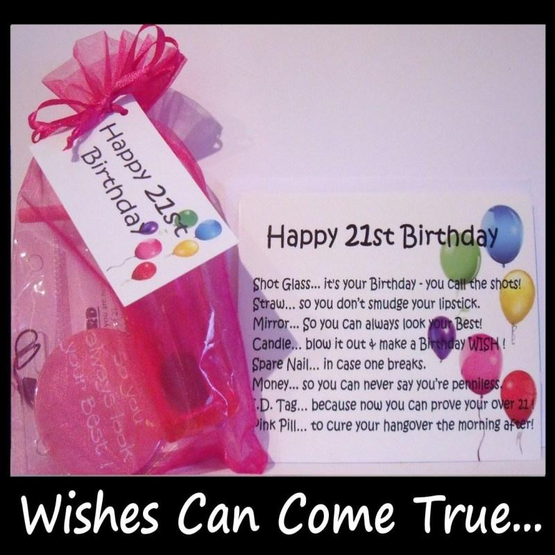 21st birthday gifts 21st birthday survival kit gift card