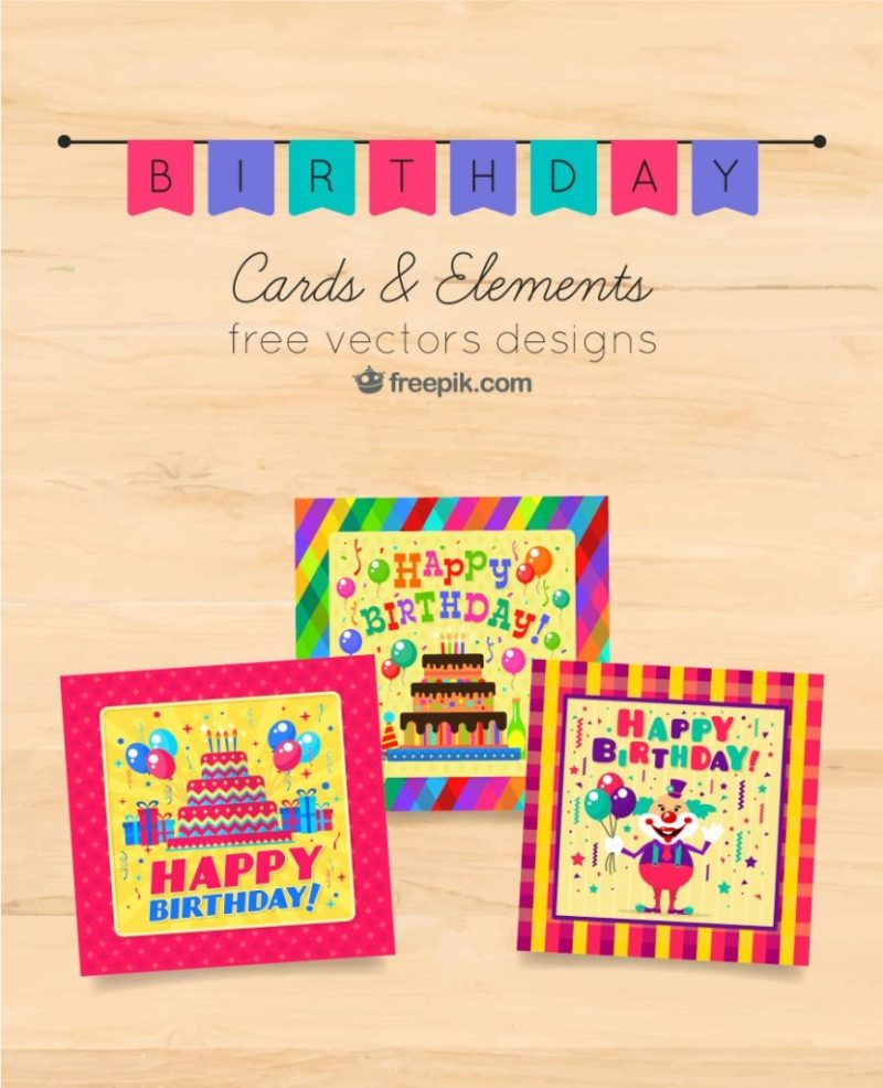 9 free birthday cards freepik blog