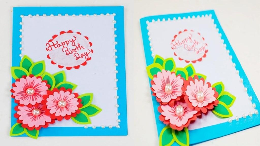 beautiful handmade birthday card idea greeting cards latest design handmade birthday gift card