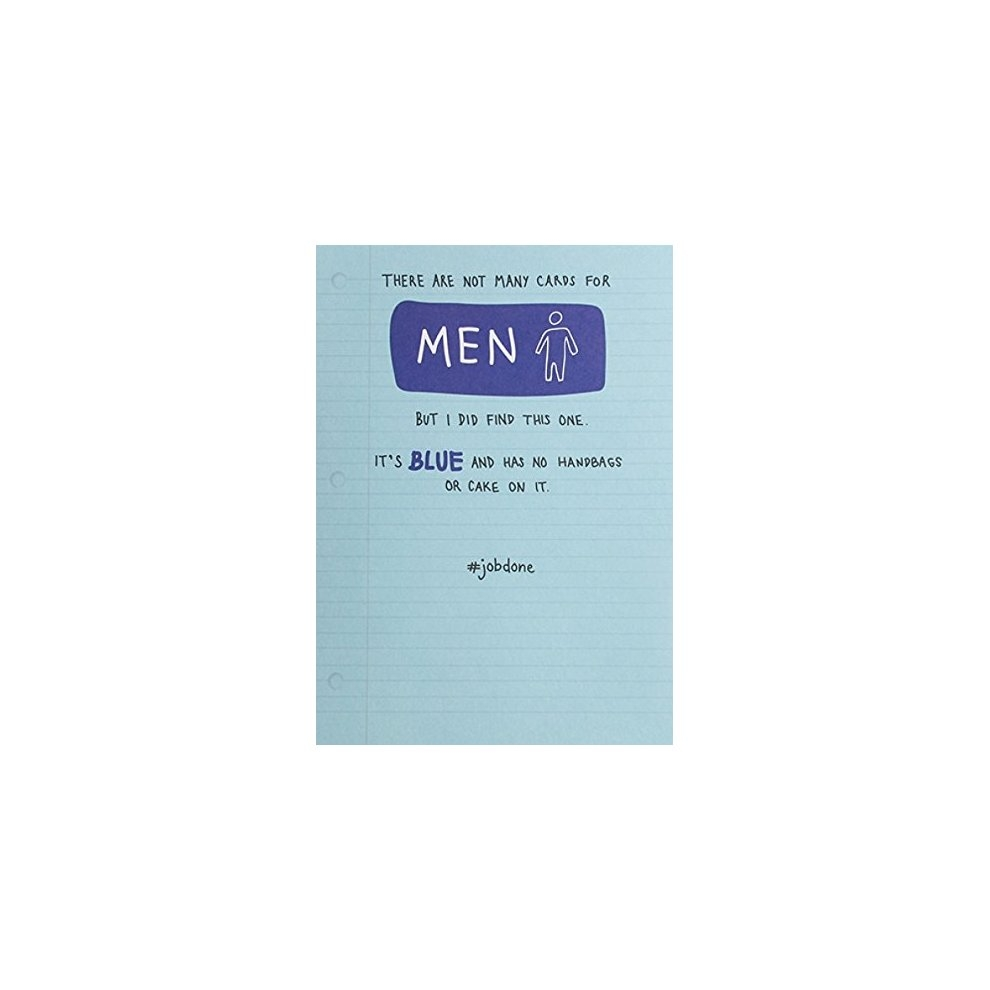 birthday card plk3036 funny there are not many cards for men
