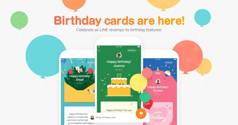 birthday cards are here celebrate as line revamps its