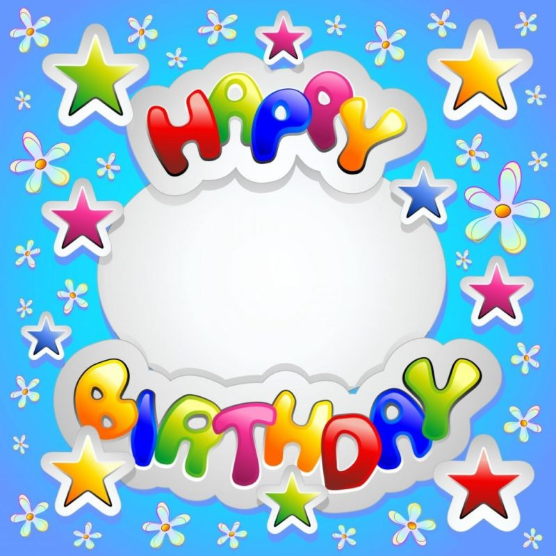 birthday cards for kids clipart