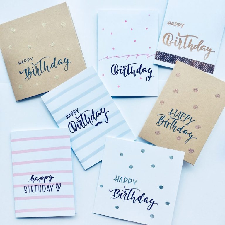 birthday cards honigbrot