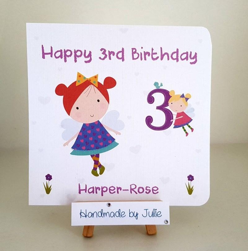 cute birthday for girls personalised handmade birthday