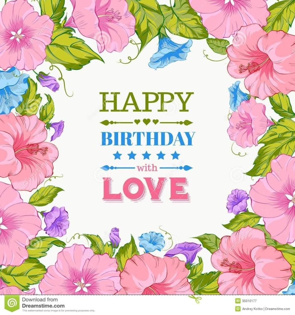 happy birthday card stock vector illustration of graphic