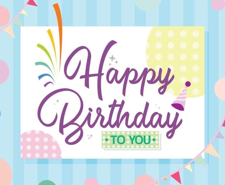 happy birthday card vector vector art graphics
