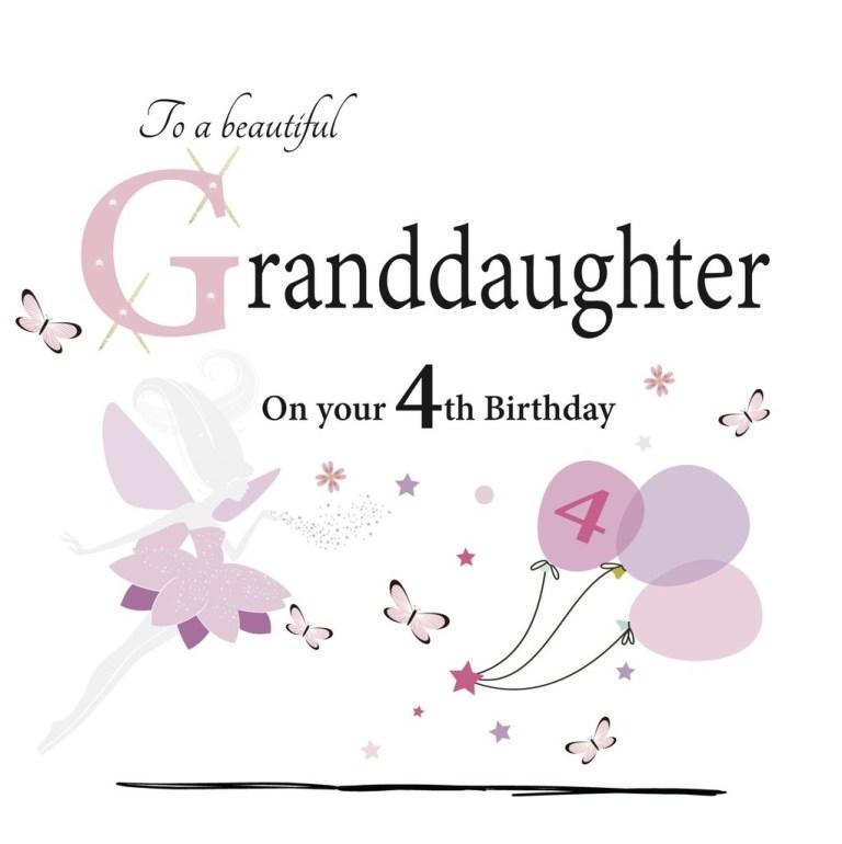 happy birthday granddaughter cards segerios