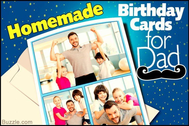 innovative ideas to make custom homemade birthday cards for
