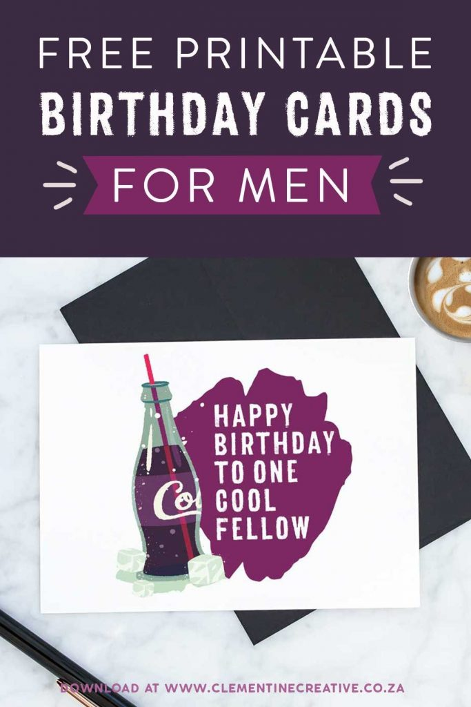 printable birthday cards for him premium free printable