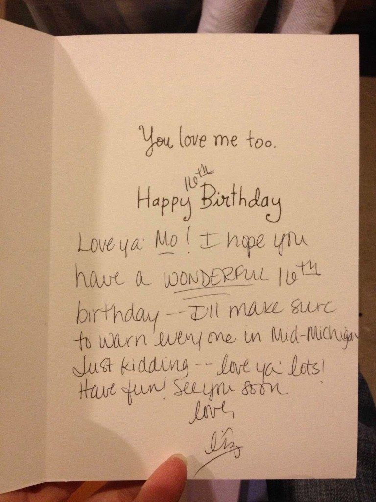sweet things to write in a birthday card best happy