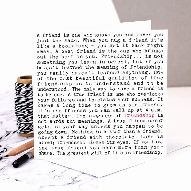 things to say on a birthday card for your friend best