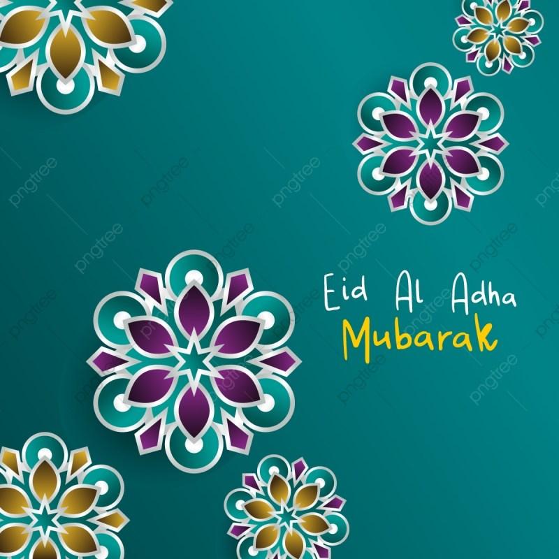 eid al adha greeting card design cut art mandala