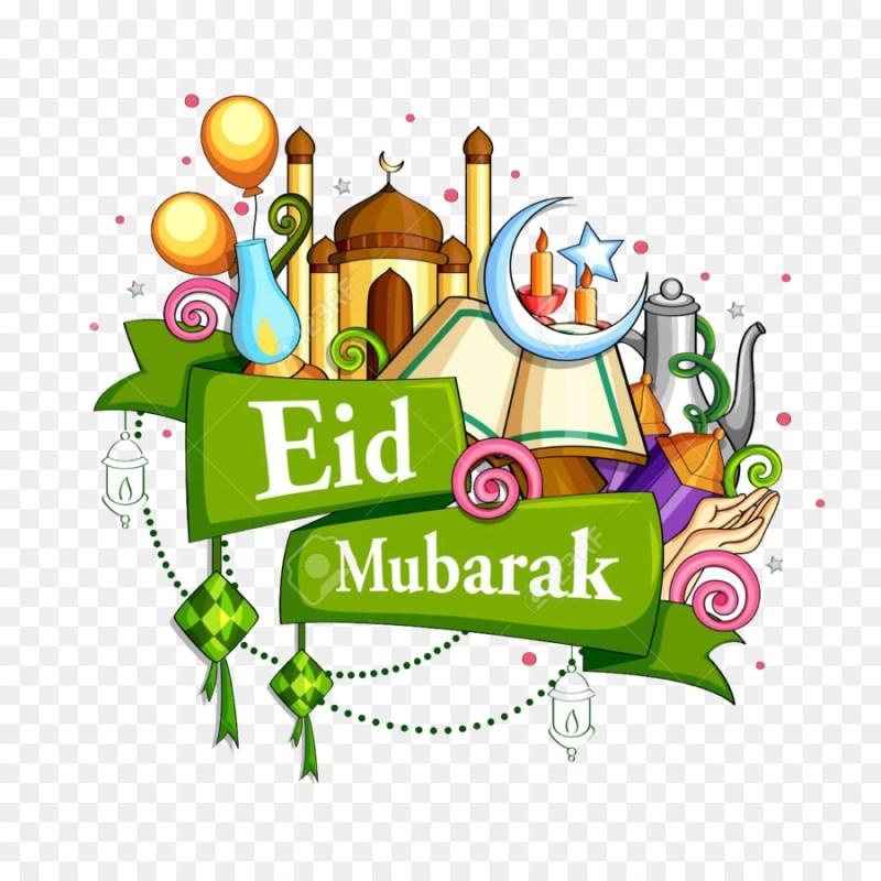 eid mubarak 2020 graphic design