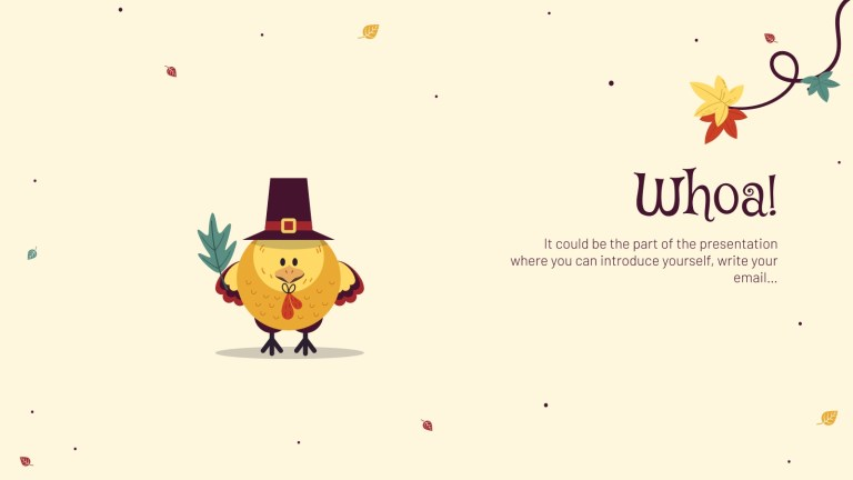 happy thanksgiving google slides theme and powerpoint template