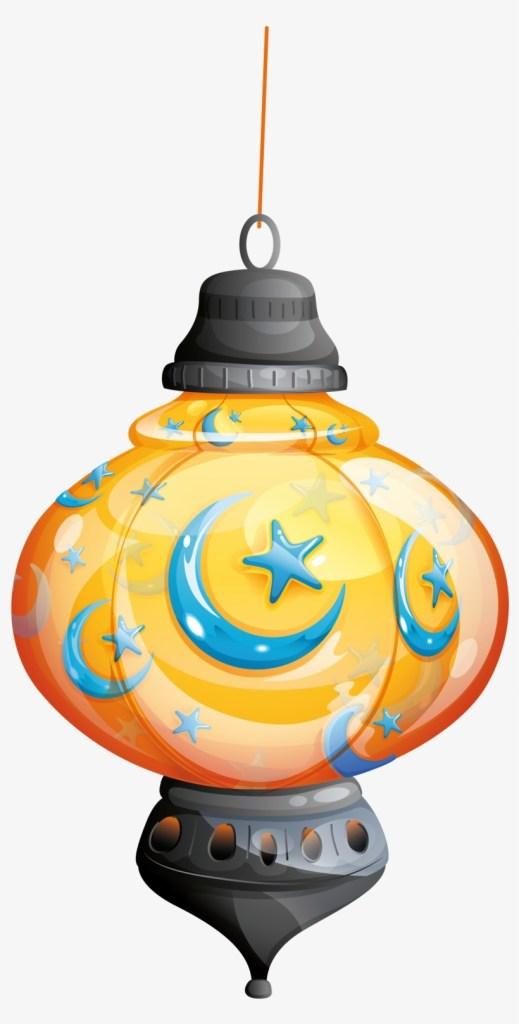 islamic lamp eid mubarak