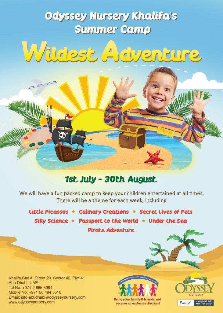 nursery summer camp advertisements