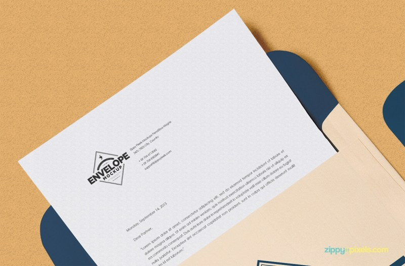 envelope printable letterhead