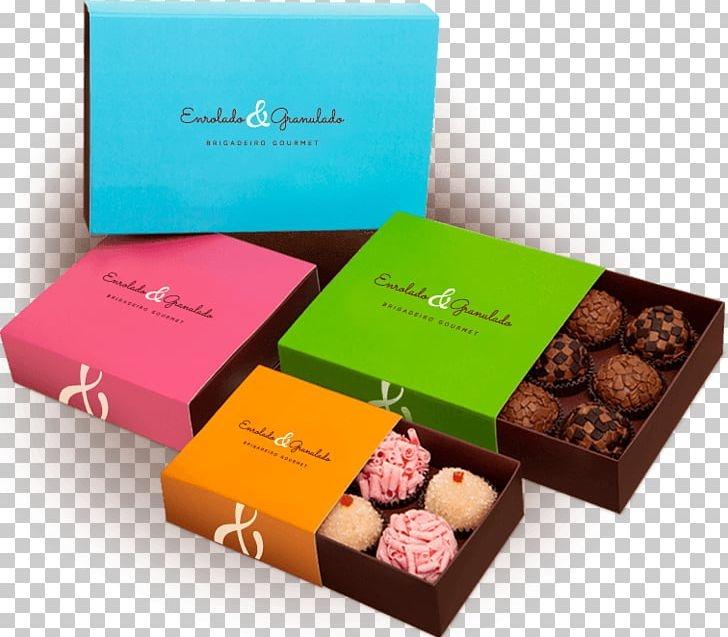 praline brigadeiro chocolate truffle ganache box png