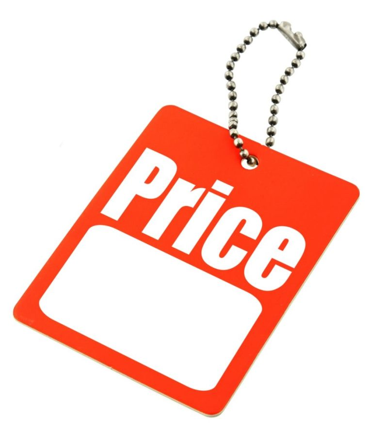 price tag template clipart