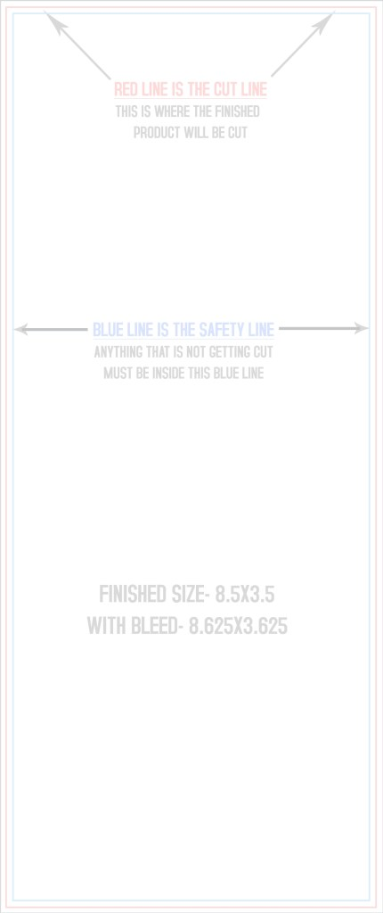 printable rack card size