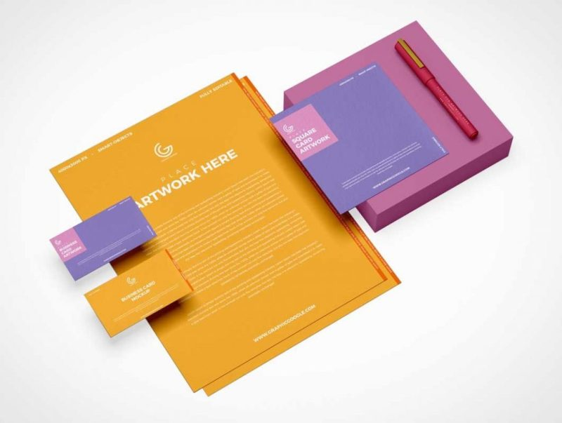 stationery letterhead stylus psd