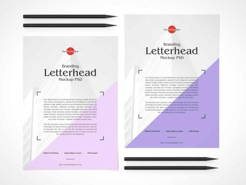 stationery printable letterhead a4