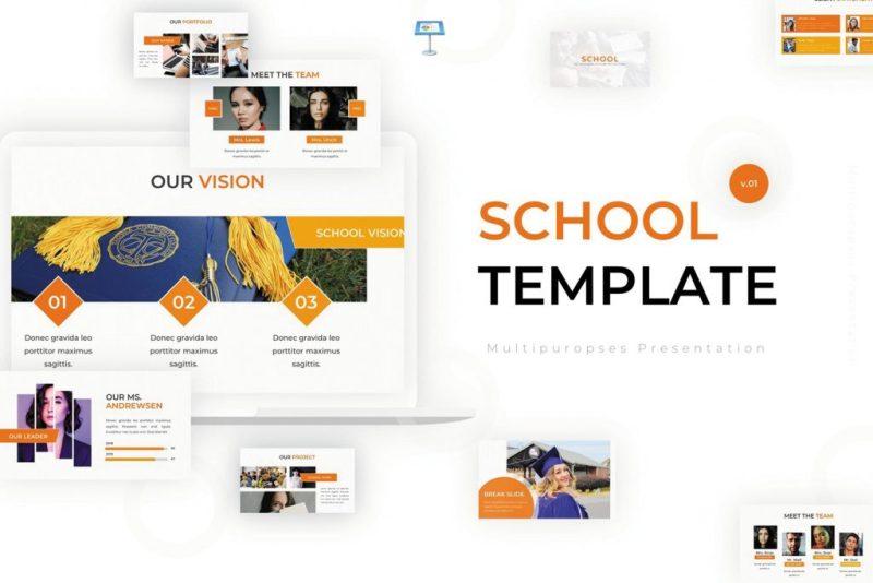 clean & creatives school presentation