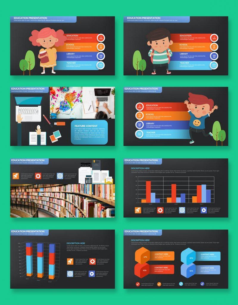 education presentation slide