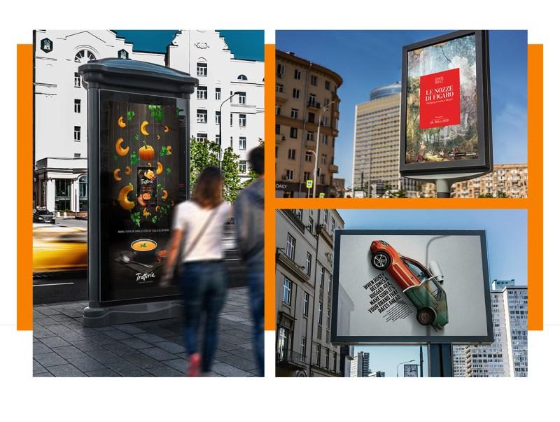 billboard urban mock ups on behance