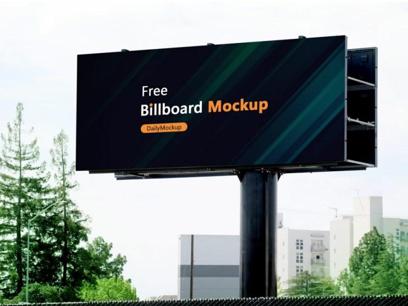 free billboard mockup psd 2020 daily mockup