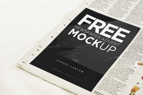 free psd goodies and mockups for designers free newspaper