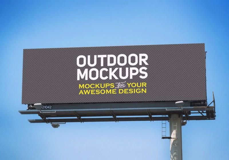 8 billboards free psd mockups free mockup