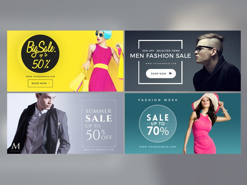facebook fashion post banner micromove dribbble