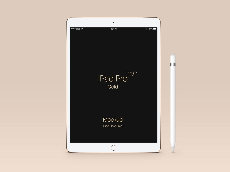 free apple ipad pro 105 inches tablet psd mockups good