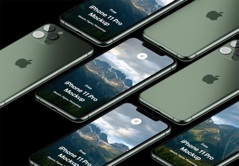 free iphone 11 pro max mockup css author