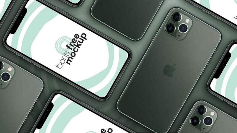 free iphone 11 pro max mockups mockuptree