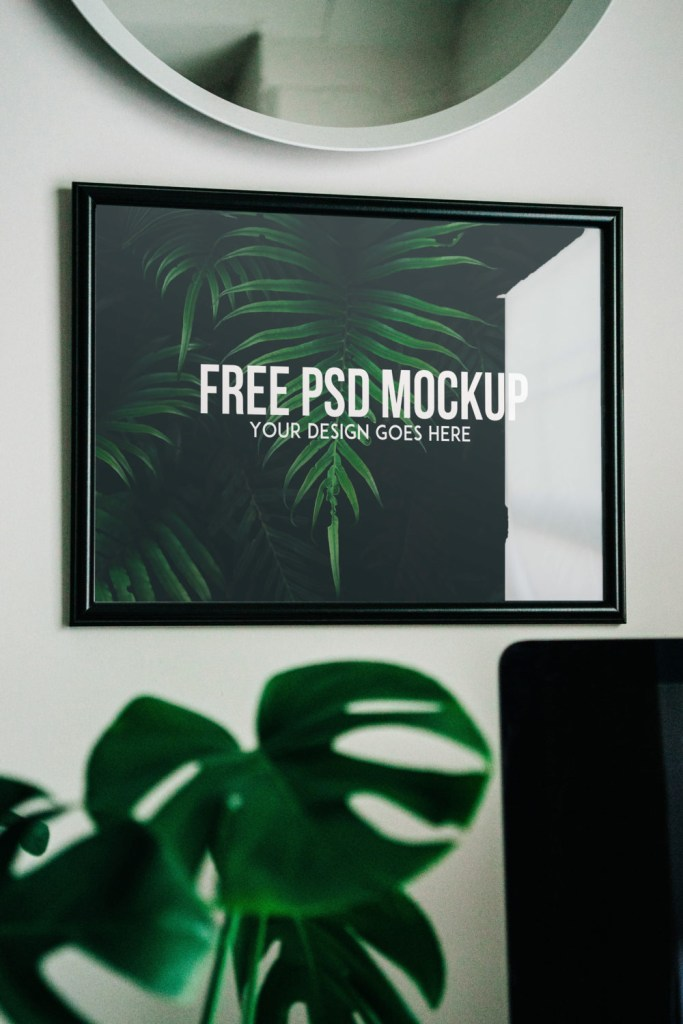 free photo frame mockup psd free mockup