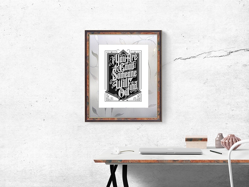 free wall photo frame mockup psd zee que designbolts