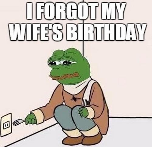 happy birthday wife memes wishesgreeting