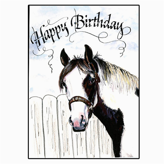 birthday cards with horses on them happy birthday wishes
