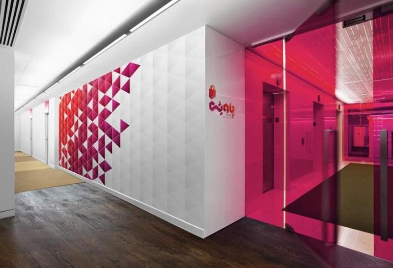 free customizable office floor wall mockup designhooks
